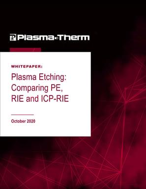 Whitepaper plasma etching