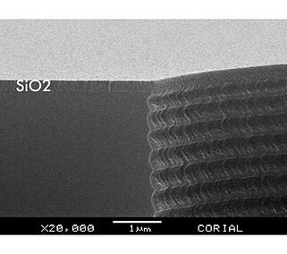 High temperature PECVD deposition process for SiO2 film