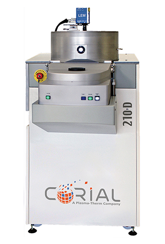 Corial 210D, 200 mm ICP-CVD equipment for low temperature deposition of thin films