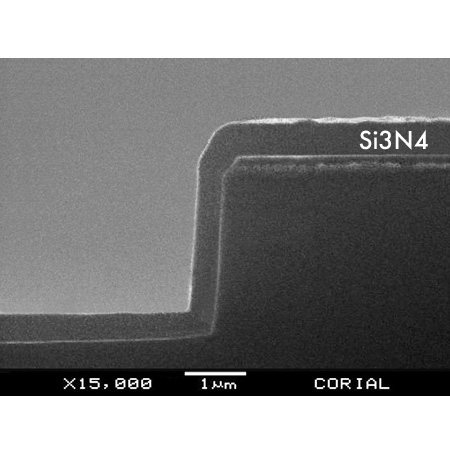 Silicon Nitride (Si3N4) PECVD deposition process with low RF