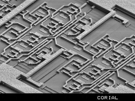 Anisotropic Si3N4 layer etch on die