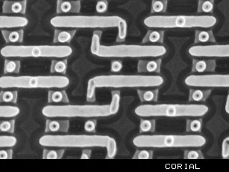 SiO2 revealed for failure analysis in 40 nm technology node